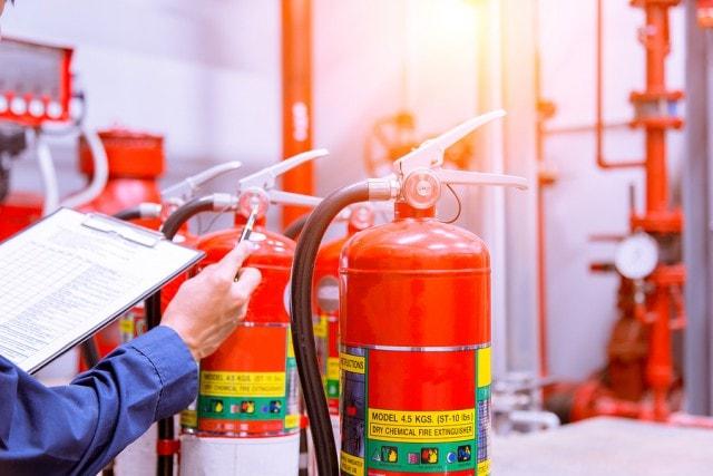 fire extinguisher maintenance Singapore