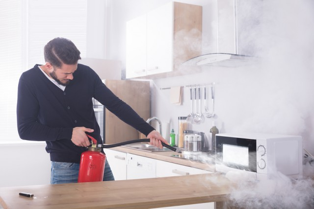 fire suppression system wet chemical for kitchen hood